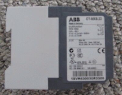Abb 1Svr630030R3300 Ct-Mxs.22 Time Relay New
