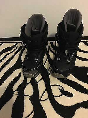Men's Size 10 Snowboard Boots Firefly Black