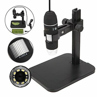Microscope 1000x Magnification USB Led Digital Endoscope Android Phone Computer