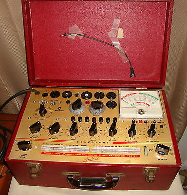 Hickok 800 Mutual Conductance Tube Tester