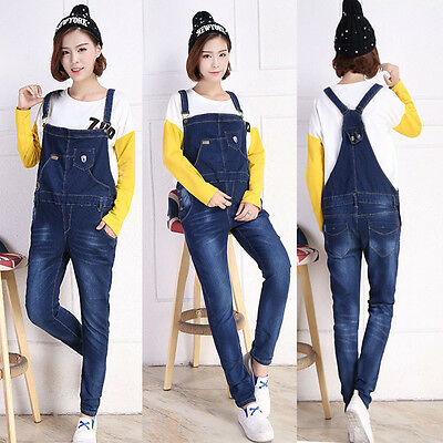 Pregnancy Maternity Jeans Dungarees Overalls Trousers Skinny Cute Comfy 8 10 12
