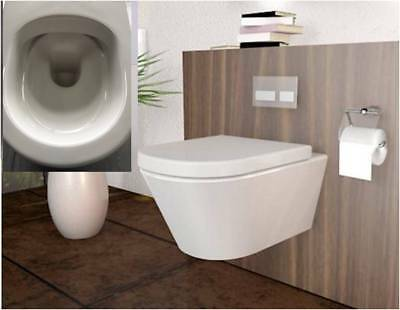 all in one lavita vorwandelement wand wc ohne sp lrand wc sitz soft close eur 199 00. Black Bedroom Furniture Sets. Home Design Ideas
