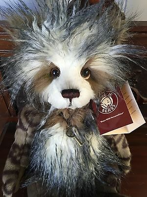 Charlie Bears Keeley Private Collection of Collectable Teddy Bears