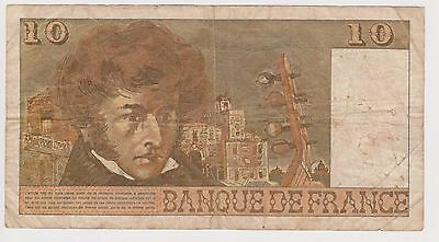 (NI-83) 1972 France 10 franks bank note (B)