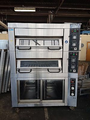 Carlyle Ultima 2 Tray x 2 Deck Oven with Inbuilt Proofer