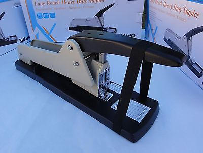 Long Reach Heavy Duty Stapler Capacity 200 Sheets