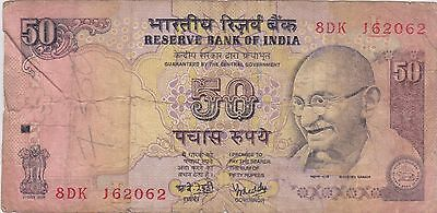 (NI-150) 1997 India 50 rupee bank note (N)