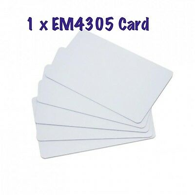 RFID EM4305 125KHZ key Rewritable Card read write
