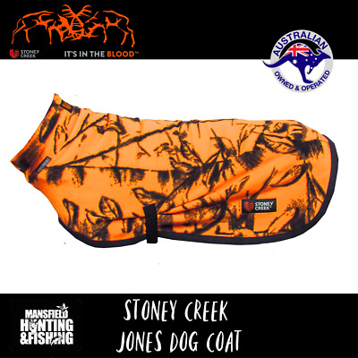 Stoney Creek Jones Dog Coat - Various Colours & Sizes To Choose From - Hunting
