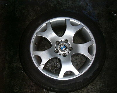 Bmw X5  Alloy Wheels With Tyres