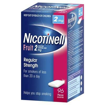 Nicotinell Chewing Gum 2mg Fruit 96 | Nicotine Gum