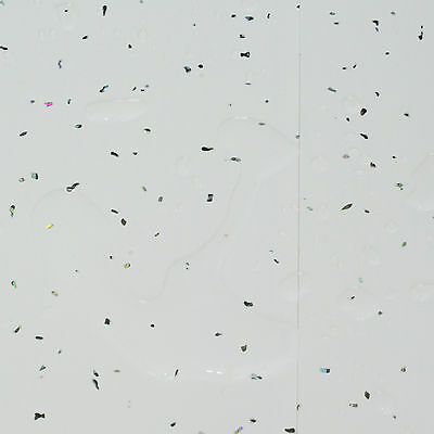 Stardust White Sparkle Bathroom Wall Cladding Panels PVC Ceiling Shower Kitchen