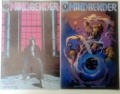 Mindbender #1 cover A and variant cover B new NM scout comics