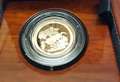 2017 Genuine Royal Mint Gold Proof FULL Sovereign Pistrucci's SV17 NEW  COA