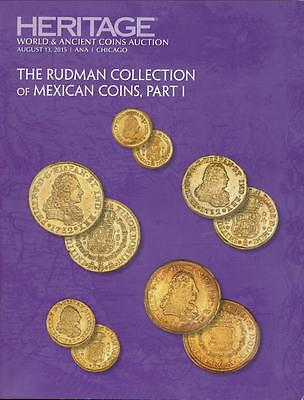 Heritage, The Rudman Collection of Mexican Coins, Part I, Auction #3041