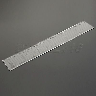 Sew Easy Rectangle Patchwork Rulers Qulting Sewing Cutting Tailor Tools 30*5cm