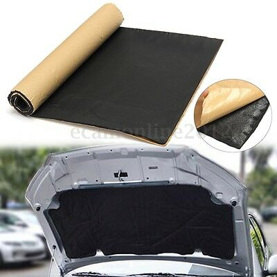 100x 50cm 10mm Car Auto Van Sound Deadening Heat Insulation Closed Cell Foam Mat
