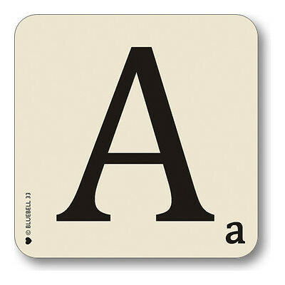 Alphabet Scrabble Placemats and Coasters Bluebell33 -  Square Letter Placemats