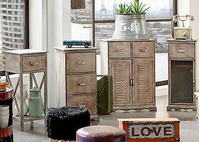 """""""Shabby Chic"""" Matching Range of Furniture. Antiqued Metal Brass/Copper Style."""