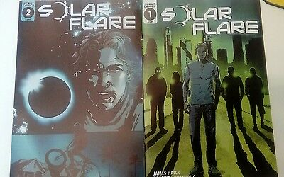 Solar Flare #1 and #2 new NM scout comics
