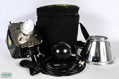 "Alien Bees B800 Black Flash Unit With Case, Cords And 7"" Reflector"