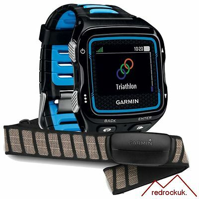 Garmin Forerunner 920XT GPS Multisport & Premium HRM Sports Watch - Blue/Black