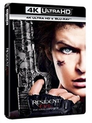 Resident Evil - The Final Chapter (4K Ultra HD + Blu-Ray Disc)