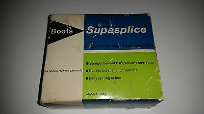 BOOTS SUPASPLICE - boxed with instructions - For Standard 8mm, Super 16mm film