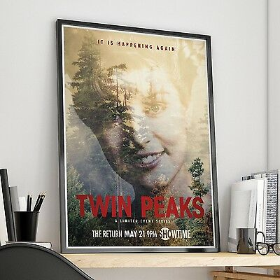 Twin Peaks 2017 SHOWTIME - Laura Palmer - Agent Cooper - Fine Art Print POSTER