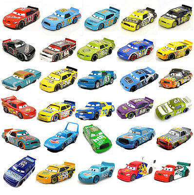 New Mattel disney pixar diecast Cars car toys kids toy 1:55 Free ship