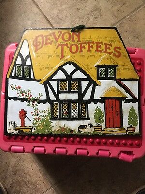 Devon Toffees Porcelain Sign Candy House