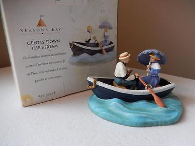 Department 56 Gently Down The Stream #56.53418 Gentleman & Lady Boating
