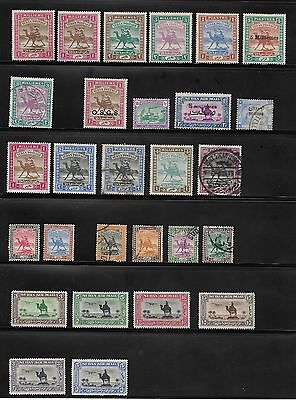 Collection Of Sudan Stamps Used And Unused
