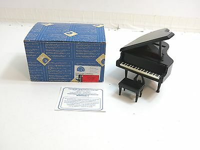 Symphony Piano Music Box That Plays Greensleeves With Original Box