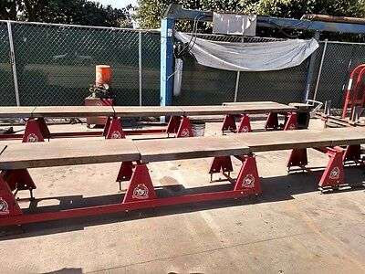 BEE LINE, used ALIGNMENT RAMP, red and Alignment machine
