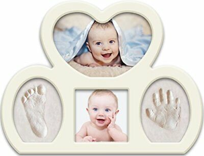 Newborn Babyprints Kit - Baby Handprint and Footprint Photo Frame Keepsake.