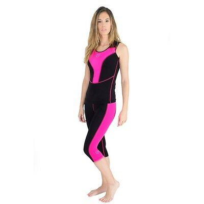 Women Running Vest Athletic Fitness Sleeveless LadiesTop&Leggin Base Layer Gym