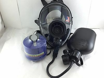 Mestel Safety SGE400 Gas Mask 40mm NATO w/DrinkingSystem& NBC Filter Exp 11/2022