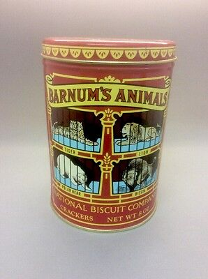 Vintage 1979 Barnum's Animals National Biscuit Company NABISCO Tin Collectible