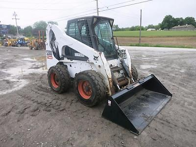 2007 Bobcat S 300 Skid Steer Loader, Cab, AC/Heat, ACS Controls, AUX Hydraulics