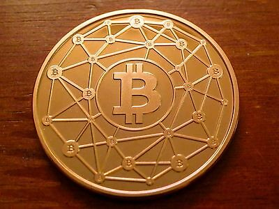 Ravenbit Copper #100 - No Bit coin Value (Physical Bit coin/Casascius/Lealana)