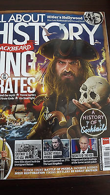 All About History Magazine  No 051 Blackbeard King of Pirates M