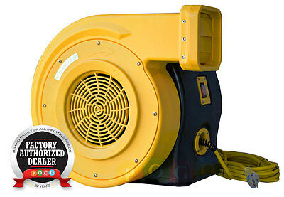 Zoom-XLT 1.5 Hp Air Blower Pump 1450 CFM For Commercial Inflatable Bounce House