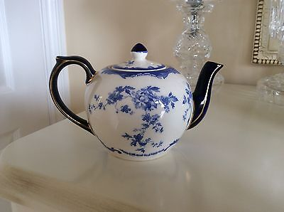 RSPB Centenary Wade Small  Teapot Blue And White
