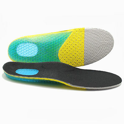 Arch support eva gel insole, Shockproof air cushion sports gel orthotic insoles