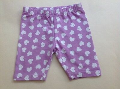 baby girl lilac/white shorts. Age 18 months