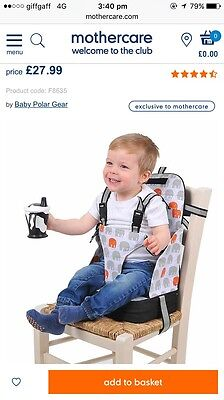 baby travel booster seat