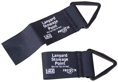 DBI SALA 9504374 Lanyard Keeper Accessory, Velcro Attachment, Parks Lanyard