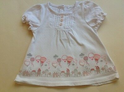 Baby girls long top/dress Age 3-6 months