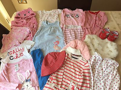 Girls Bundle Of Clothes Aged 12-18 Months